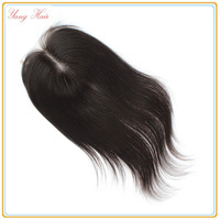 "100% remy virgin peruvian Hair lace closures 3.5x4""swiss lace closure Bleached knots straight hair Closure FREE SHIPPING"