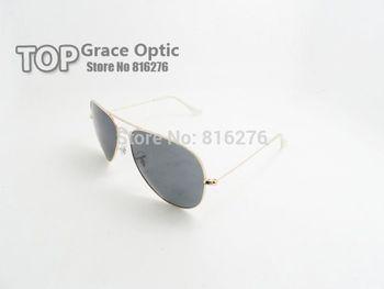 Free shipping Oculos Vintage RB 3025 3026 Shade UV400 Aviator Metal Classic Retro Brand Men Women Fashion Polarized Sunglasses