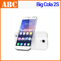 "Original Big Cola 2S Quad Core Android 3G Mobile Phones 5.3"" IPS Gorilla glass screen Dakele 1G/4G 2G/32G MTK6589T, black white"
