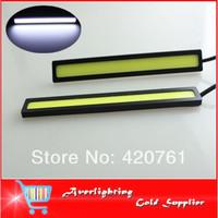 Super Bright High Quality Daytime Running Light Waterproof COB Daytime Light LED DRL Driving Light Lamp