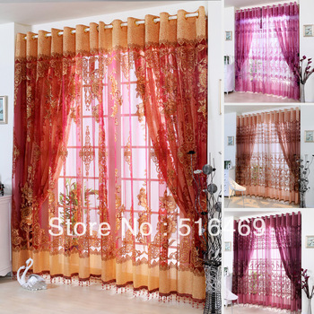 Quality fashion curtain1M*2.7M/PCS luxurious and noble balcony finished product Upscale living room curtains custom to luxury