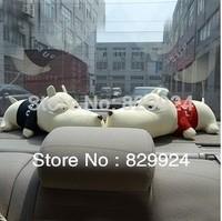 Free Shipping 2 PCS/Lot  Long Mouth Lover Dog Car Bamboo Charcoal Bag/Car Deodorizer/Car Air Freshener 2 colors