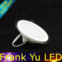 FREE SHIPPING-dimmable 15w led panel led downlight round 15w led ceiling down light recessed lamp small flat led lights