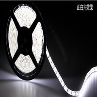 Free shipping by Fedex 5050 60leds/m dc12v 14.4w/m 840lm/m led strip. lights 50 meters one lot wholesale CE&RoHS