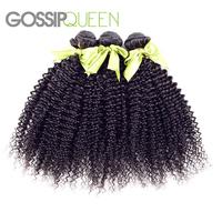 5A brazilian virgin hair kinky curly cheap brazilian hair 3 pcs lot free shipping brazilian curly virgin hair human hair weave