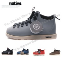 Native New 2014 Men Winter Shoes Waterproof Leather Snow Fur Ankle Boots Martin Botas Bota Masculina Plus Size