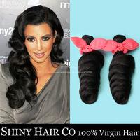4 Bundle Brazilian Virgin Hair Loose Wave Natural Black 6A Unprocessed Human Hair Weave Brazilian Loose Wave Juliet Virgin Hair