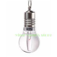 Free shipping Fashion Light Bulb Shaped USB 2.0 Flash Drive 8g