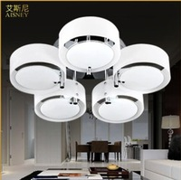 Fashion Acryl LED ceiling light modern brief living room light bedroom lamp restaurant kitchen lamps round lamp