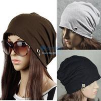 5pcs/Lot WHolesale 2014 Fashion Unisex Cap Cotton Hip Hop Baggy Beanie Hat Ski Cap Cotton Warm Skull Wrap Hats 5 Colors 20017