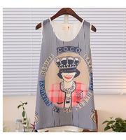 2014 fashion Women lady girl Tank Tops Shirt suit New Women Girt Casual Chiffon Top Tank Sleeveless Blouse Shirt -a380