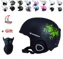 arrive in 18-25 days! Authentic Adjustable Professional Ski Helmet  Racing Ultralight ladies helmet  high quality white helmet(China (Mainland))