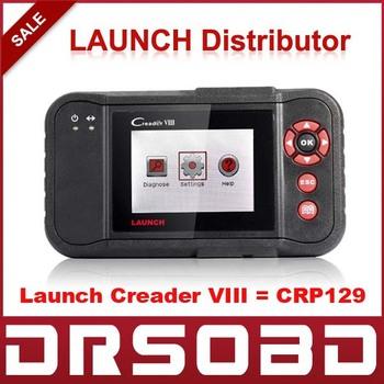 [2pcs/lot] LAUNCH CREADER VIII OBD2 Code Reader CReader 8 Diagnostic 4 System  Engine Transmission ABS Airbag Free Online Update