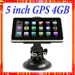 5 inch gps navigation,MTK,WIN CE6.0,FM Transmitter,4GB free map,car gps(China (Mainland))