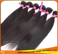 virgin brazilian hair wefts,3 pcs,different lengths