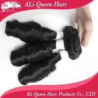 New arrival malaysian Aunty Funmi virgin hair wavy same size 3 pcs lot, malaysian hair extensions