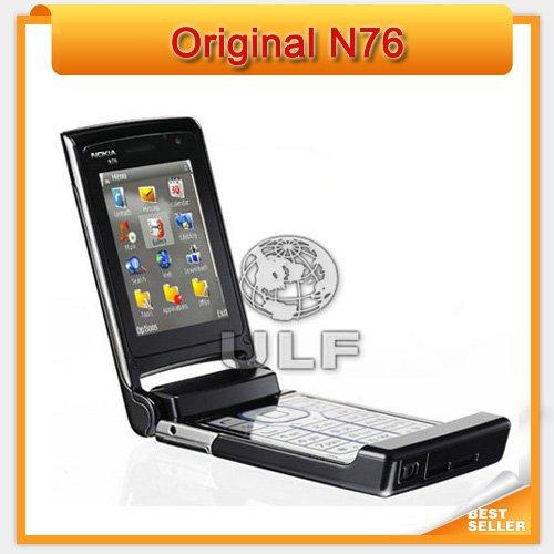 Holiday Sale Nokia N76 Original Mobile Phone Support English Russian Keyboard(China (Mainland))