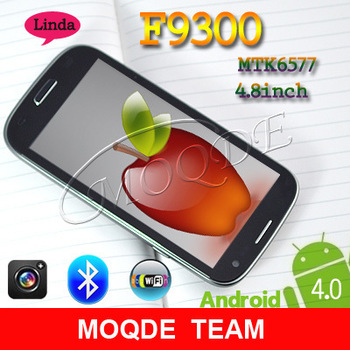 Feiyang/Flying MTK6577 Dual Core 1GHZ 512RAM+1G ROM 4.8'' Screen F9300 3G Cell Phone