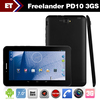 Hot 7inch Freelander PD10 3G dual core tablet pc MTK 6577 1.5GHz 1GB RAM 8GB ROM wcdma dual sim phone call Bluetooth HDMI(China (Mainland))