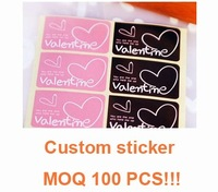 PS30 customized stickers printing hight quality services  custom adhesive PAPER sticker  free shipping round square sharp  LOGO