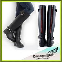 2014 Fashion Woman Rain Boot Women Rubber Designer Rainboots Water Shoes  Boots For Rain Day De Neve Botas