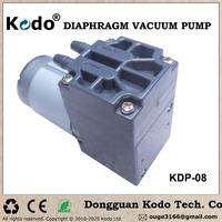KDP-08 series DC 12V 24V optional electric micro vacuum pump