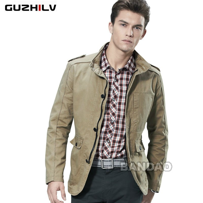 Men Fashion Jacket Dress Wear clothes jacket outwear