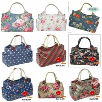 FREE SHIPPING2013 new cath bag canvas women handbag for girls flowers summer bag women brand with logo, label