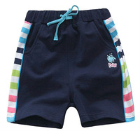 Freeshipping summer Children Child boy Kids baby lake Blue and navy blue Casual cotton Shorts Pants Trousers Bottoms PEXZ36P83