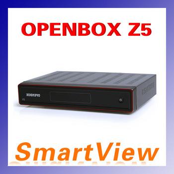 1pc Original openbox Z5 Satellite Receiver HD 1080p dvb-s2 support usb wifi  youtube iptv weather google 3G GPRS free shipping