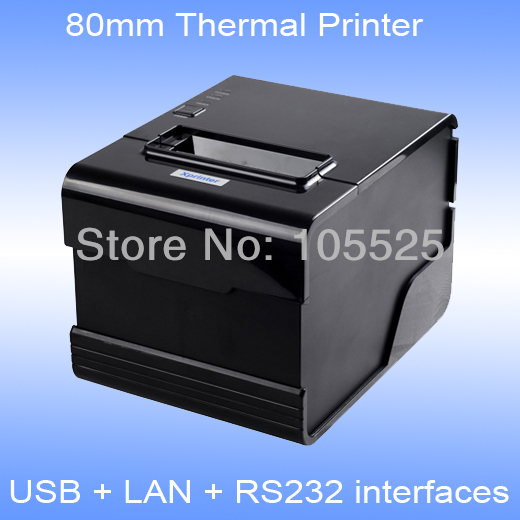 Point of sale thermal receipt printer XPC260N cutter usb+lan+serial interfaces(China (Mainland))