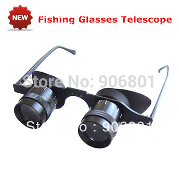 High Quality 10X32 Magnifying Glass Optics Binocular Telescope for Wearing and Fishing