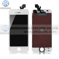 Original For iphone 5 5G lcd Touch Screen Digitizer Assembly White&Black color Free Shipping DHLor EMS 20pcs