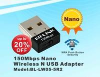 Smallest 150Mbps mini wireless USB adapter/WIFI transmitter / receiver global minimum of wireless network card
