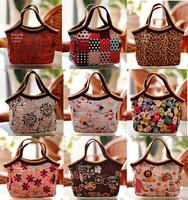 Free Shipping  20 Color Canvas lunch bag  New Fashion Women's Handbag  Lady Totes Baby Bag Portable beach storage bag