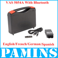 Vas 5054 V19 Vas5054a Diagnostic Tool For Audi Vw Vas5054 Scanner 5054a Bluetooth High Quality PC Interface Spanish/France