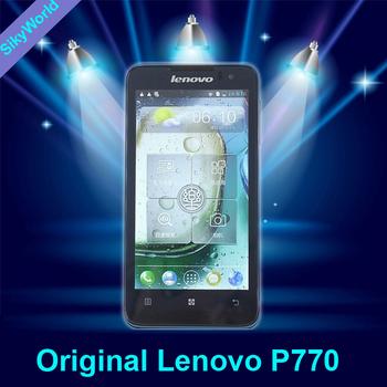 "Dual SIM Lenovo P770  3500mAh 1G+4G MTK6577 Dual Core 1.2G 4.5"" IPS  GSM/WCDMA 3G Anroid 4.1 Smart Phone Russian Support"