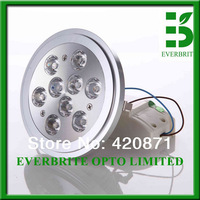 High power 85-265Vac 12W non dimmable led ar111. warm white G53 45deg led qr111,Replace 75W halogen