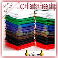 Top+Pants 2pcs New brand Unisex  sportswear women sport suits jersey long sleeve tracksuit jacket pants hoodies sweatshirts