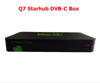 Free shipping 5pcs / lot Excellent HD singapore set top box for hd SCV channels EPL/BPL similar MVHD