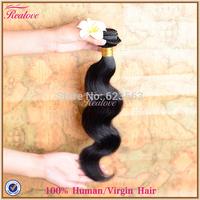 "peruvian virgin hair body wave human hair extensions 1pc 8""-30"" hair wholesale cheap peruvian hair Peruvian body wave realove"