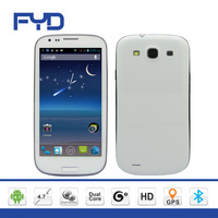 SF-9300 free shipping 4.7 inch mtk6577 android 4.1  dual sim dual camera 3G mobile phone