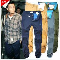 On Sale New Arrival 2014 Shampooers Slim Clot Men Cloth Trousers Men's  Pants Casual Pants Bboy HOT Free Shipping