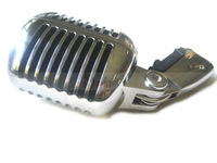 New Shell Body 55/SH Series II Wired Microphone With Switch Vocal Speach Assembling Silver Color Wholesale Hot Sales