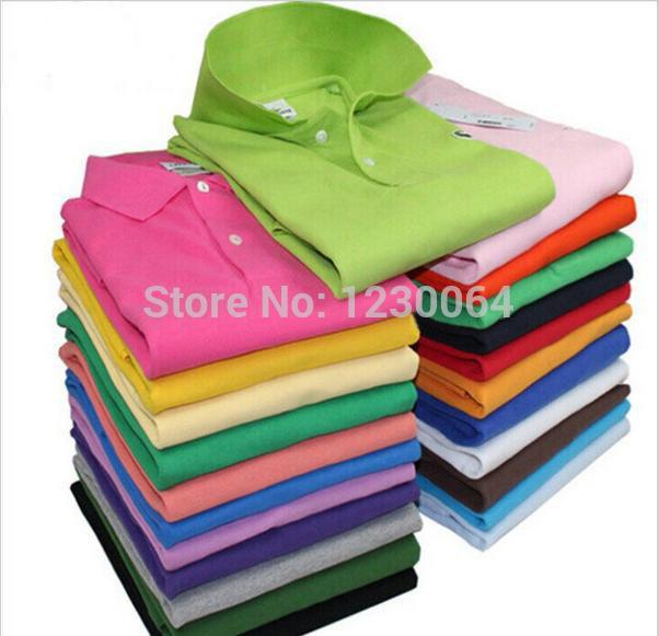 New 2014 men's brand shirts for men shirts vintage sports jerseys tennis undershirts casual shirts blusas shirt 18 color(China (Mainland))