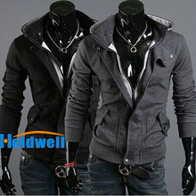 Free Shipping Hot warm Collar new brand men's Jackets warm coat hoodie cotton  warm collar cap Men(China (Mainland))