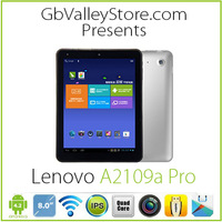 Original Lenovo Pad A2109a Pro Tablet PC Quad core 1.3GHz 1GB RAM 16GB ROM capcitive Screen WIFI external 3G OTG Free shipping