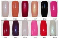 free shipping various colors available high gloss nail beauty care soak off ibd uv nail gel polish set gel