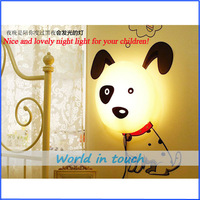 DIY Paper Wall Lamp Cartoon Atmosphere night Light Novelty Wallpaper Lamp 4 Models(dog, flower, pig, journey) in stock