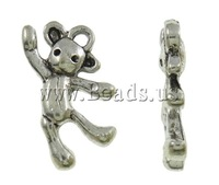 Free shipping!!!Zinc Alloy Pendant Settin Animal,Sexy Jewelry, antique silver color plated, nickel, lead & cadmium free